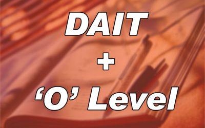 DAIT+'O'-Level