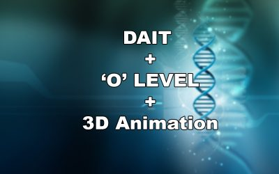 DAIT + 'O'-Level + 3D-Animation